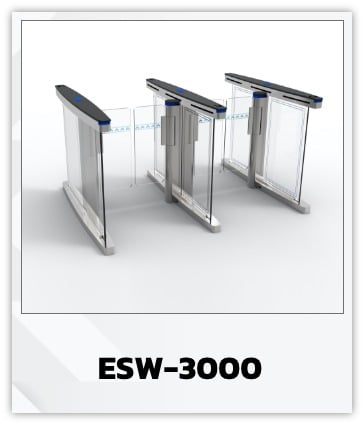 ESW-3000 : Swing Hi-Speed Gate Barrier