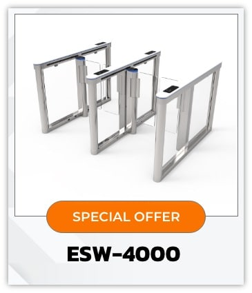ESW-4000 : Swing Hi-Speed Gate Barrier